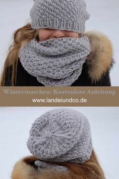 Baby Knitting Patterns Hat Free knitting pattern for a cuddly set consisting of cap, loop and st … Knitting Patterns Free, Free Knitting, Baby Knitting, Free Pattern, Crochet Patterns, Knit Crochet, Crochet Hats, Easy Knitting Projects, Woven Wrap