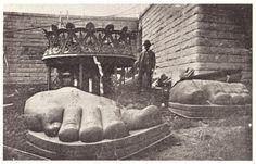 Statue de la Liberté: détail pied
