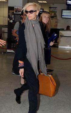 Tilda Swinton @ airport