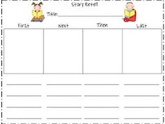 Retell template with vocab