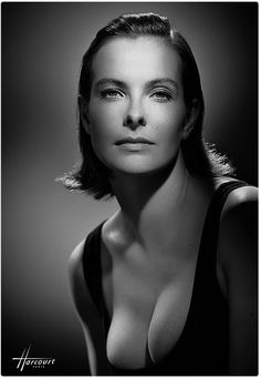French actress Carole Bouquet She might be the original Chanel #5, models on ads.