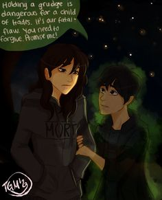 di Angelo AU by TheGingerMenace123.deviantart.com on @DeviantArt (If Nico died and Bianca lived)