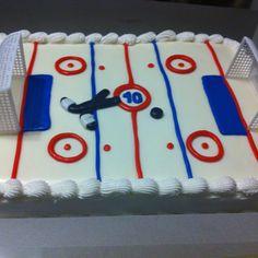 try to make blanket for daniel Boy Birthday, Birthday Cakes, Birthday Ideas, Hockey Cakes, Hockey Party, Make Blanket, Cakes For Boys, Rehearsal Dinners, No Bake Cake