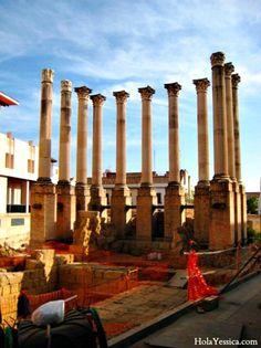 Roman ruins in Córdoba, Spain.