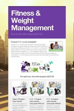 Fitness & Weight Management Cleanse Program, Clean 9, Forever Living Products, Healthier You, Weight Management, Feel Better, Finding Yourself, How To Remove, Wellness