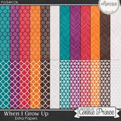 When I Grow Up - Extra Papers
