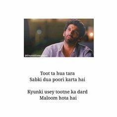Yjhd Quotes, Shyari Quotes, Snap Quotes, Pain Quotes, True Love Quotes, Hurt Quotes, Quotes And Notes, Qoutes, Bollywood Love Quotes