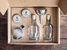 Homemade Gin Kit by W&P Design at Cooking.com