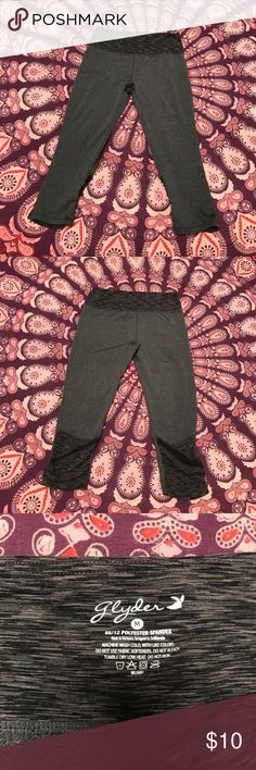"""Yoga Pants Has """" hidden pocket""""!in waistband. Great condition!      Tags: Hollister. Free People. Boho. Gypsy. Festival. Hippy. Beach. PINK. Banana Republic. Buckle. H&M. American Rag. Pac Sun. Forever 21. RipCurl. Levi's. Vintage. Fossil. Victoria's Secret. Urban outfitters. Please Check out my adorable other listings! Happy Shopping! Glyder Pants Track Pants & Joggers"""