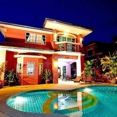 Вилла Baan Duan Viewpoint Village взять в аренду в Паттайе