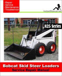 57 best bobcat skid steer loader service manual pdf images on rh pinterest com Bobcat Service Manual PDF Bobcat Service Manual PDF