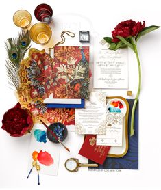 Luxury Wedding Invitations by Ceci New York - Romantic Spanish Wedding #letterpress #printing #foil #stamping #digital #hand #calligraphy #watercolor #painting #die #cutting #couture #ceci #johnson #ceci #new #york #custom #wedding #styled #photograph