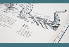 Bestiario Criptozoologico Lacustre Lago Film Fest XII -progetto editoriale a supporto della campagna di comunicazione della 12° edizione di Lago Film Fest.Realizzato con amore.