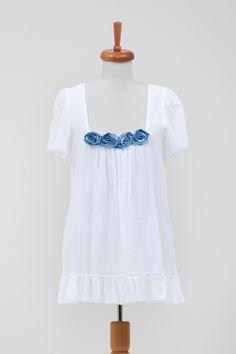 920ffa74089f5 Los Angeles Elbise - 91.00 TL Beyaz %100 koton vual krinkil kumaşlı, bedeni  yine
