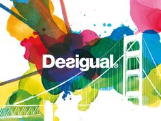 If one brand is colourful, it's the Spanish Desigual!