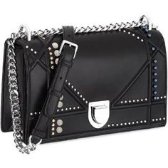 Dior Diorama Bag with Studded Beads and Crystals as seen on Rihanna