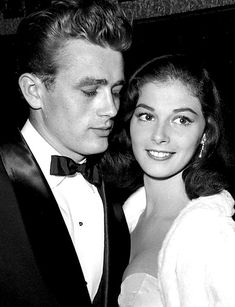 James Dean and Pier Angeli - He later said that she was the only woman that he ever really loved <3