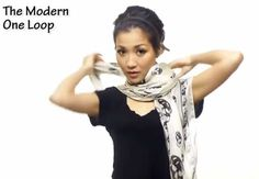 Tired of getting tangled up when you don't know how to tie a scarf? This amazing video tutorial will teach you 25 ways to wear a scarf in just minutes!