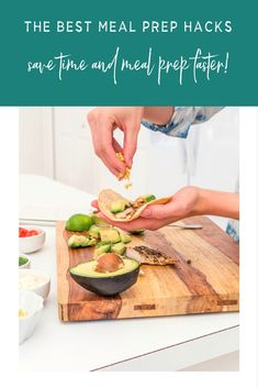 The best meal prep hacks to save time and prep your meals faster Best Meal Prep, Meal Prep For The Week, Portion Control Diet, Meal Prep For Beginners, Weight Loss Meal Plan, Quick Meals, Meal Planning, Prepping, Healthy Eating