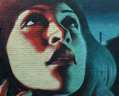Street artiste El Mac in Montréal.