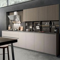 2019 Vermonhouzz Modular Moisture Proof Melamine Kitchen Cabinets Design with Island Black Kitchen Cabinets, Custom Kitchen Cabinets, Kitchen Cabinet Colors, Black Kitchens, Kitchen Furniture, Modern Kitchens, Island Kitchen, Furniture Design, Kitchen Room Design