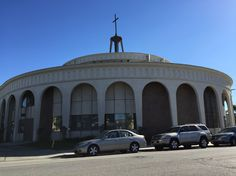 Mid-Century Googie Church, 3rd & Junipero, Long Beach