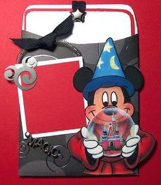 °o° Disney Magic Journaling pocket - Two Peas in a Bucket