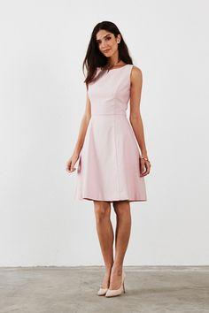 Audrey Bridesmaid Dress in Blush