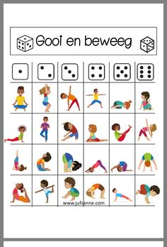 A new trend in your kids' classrooms nowadays. Instead of staring at the board in front, the kids are lying on the floor near their desks practicing yoga Poses Yoga Enfants, Kids Yoga Poses, Yoga For Kids, Exercise For Kids, Gross Motor Activities, Gross Motor Skills, Preschool Activities, Preschool Playground, Yoga Games