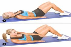 Ultimate Situp-Free Ab Challenge For Tighter Abs Plus Fitness, Body Fitness, Fitness Tips, Fitness Motivation, Health Fitness, Abs Workout Routines, Ab Workout At Home, Ab Workouts, Clean9