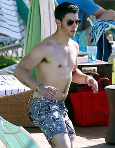 Nick Jonas Goes Shirtless in Hawaii With Olivia Culpo: Picture - Us Weekly