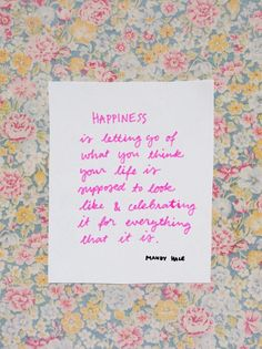 Viikon ajatus: onnellisuudesta