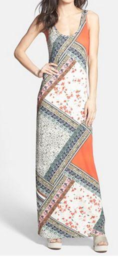 Pretty print maxi dress http://rstyle.me/n/h28dhnyg6