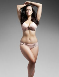 Laura Wells plus model. I like meat on my ribs!!!