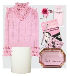 """""""Pink dreams"""" by tatjanasega on Polyvore featuring Gucci, Olympia Le-Tan, Current Mood, Charlotte Olympia, Roland Mouret and Urban Decay"""