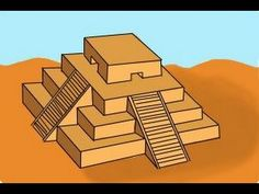 How to draw a Ziggurat.We will showcase the simple steps on how to draw a… History Lessons For Kids, Drawing Lessons For Kids, Teaching History, Ancient Mesopotamia, Ancient Civilizations, How To Draw Steps, Aztec Art, Cultural Studies, Step By Step Drawing