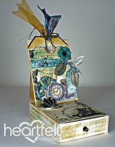 Heartfelt Creations | Hero Easel Card Box