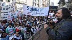 Sube la presión: Roberto Baradel vaticinó conflictos con gremios docentes de todo el país: El secretario general de SUTEBA exige la…