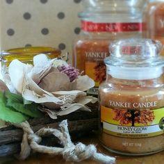 Honey glow Yankee Candle.