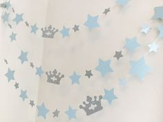 Are you having a Prince themed baby shower or birthday party? Heres a great garland to jazz up your event!! And this garland will be so cute