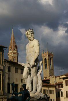 Statue de la piazza de Signoria - Florence, Italy