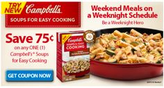 Make Dinner In 30 Minutes Or Less With Campbell's® Soups for Easy Cooking + save .75 at @Walmart  #WeekNightHero #Ad