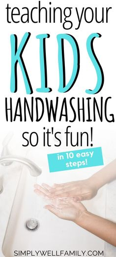 This best tip to keep kids from getting sick! Make handwashing fun for kids with activities that make teaching easy. Kids will learn why handwashing is so important to keep them healthy. Plus, the genius way that gets your kids to wash their hands so that Mindful Parenting, Parenting Hacks, Sick Toddler, Proper Hand Washing, Hand Hygiene, Runny Nose, Mom Advice, Kids Health, Raising Kids