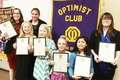 optimist club essay contest winner