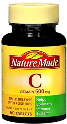 Nature Made Timerelease Vitamin C with Rose Hips 500 Mg Tablets 60Count Pack of 2 -- Click affiliate link Amazon.com on image to review more details.