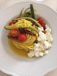Chitarra Primavera Pasta all'uovo fatta a mano, @Romina Muzi