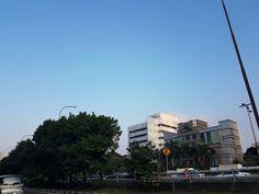 Sea-ish sky of Jakarta
