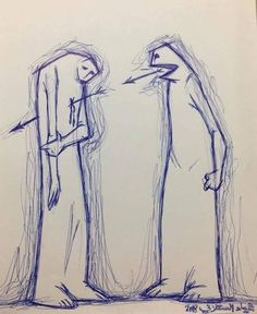 Words can hurt. How we speak to children is how they will speak to others. We are their teachers and our actions are their lessons. Choose your words thoughtfully. Sad Drawings, Dark Art Drawings, Art Drawings Sketches Simple, Pencil Art Drawings, Satirical Illustrations, Dark Art Illustrations, Illustration Art, Meaningful Drawings, Meaningful Pictures