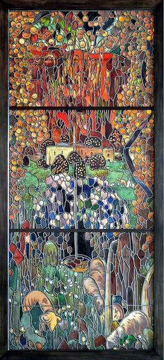 Barcelona - Parc de Montjuïc Palau Nacional q Mosaic Art, Mosaic Glass, Mosaic Tiles, Glass Art, Gaudi, Stained Glass Designs, Stained Glass Panels, Barcelona, National Art Museum