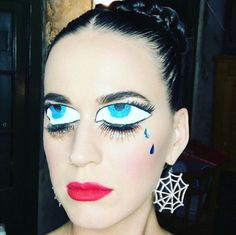 Pin for Later: ICYMI: The 17 Best Celebrity Halloween Beauty Costumes of 2015 Katy Perry